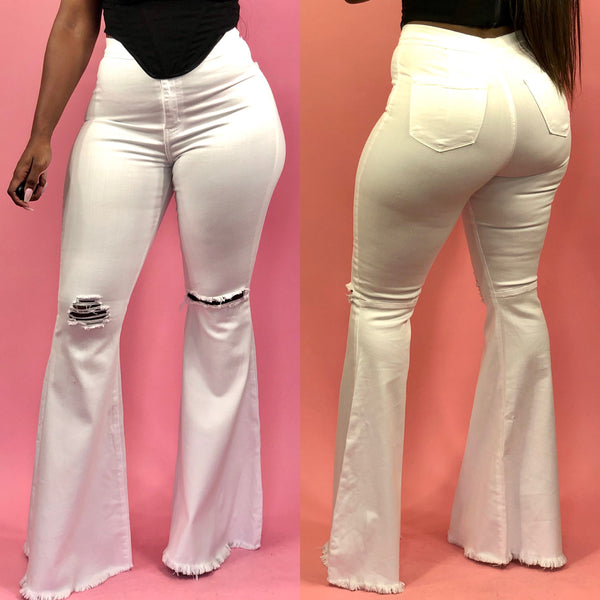 In My Flare 2 Jeans (White)