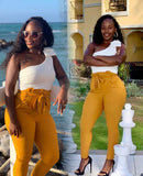 Stylish Diva Pants (Mustard)