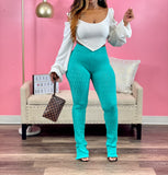 Ari Leggings (Mint Jade)