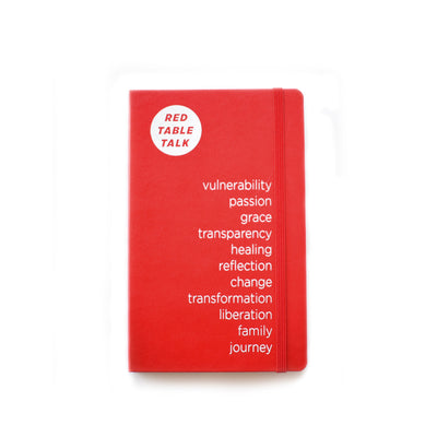 Red Table Talk Journal - Red
