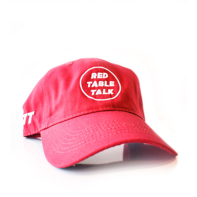 Red Table Talk Hat