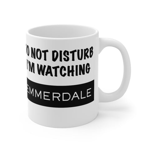Do Disturb Emmerdale Mug 11oz