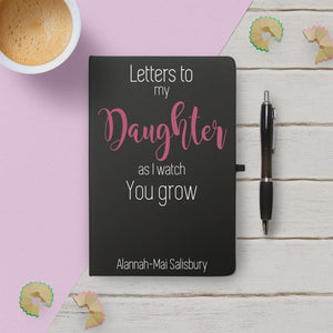 As I Watch You Grow Black Notebook & Pen - MyCustomGiftsUK - Best Customized Products