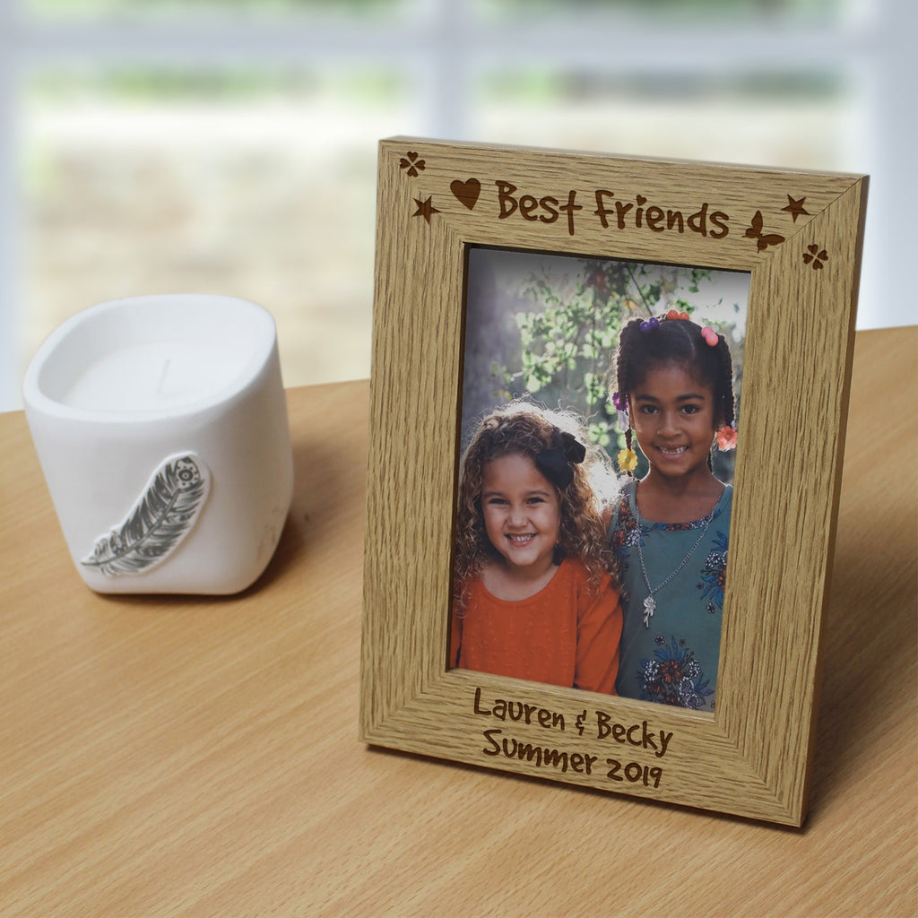 Best Friends Wooden 6x4 Frame