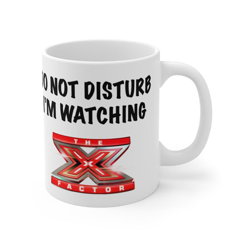Do Not Disturb X Factor Mug 11oz