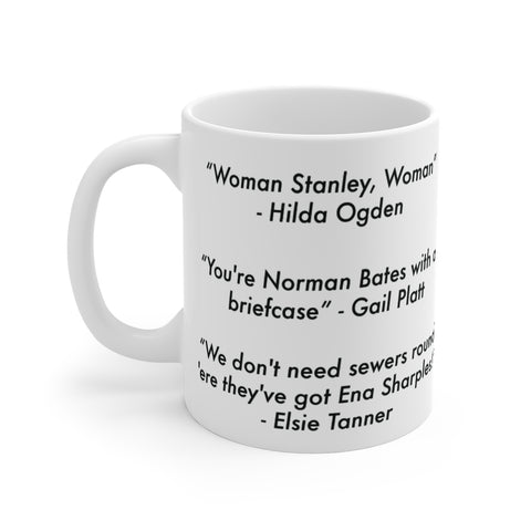 Classic Corrie Quotes 60 Year Celebration Collection Mug 1