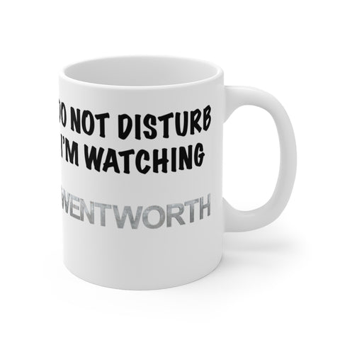 Do Not Disturb Wentworth Mug 11oz