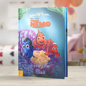 Personalised Disney Finding Nemo Story Book - MyCustomGiftsUK - Best Customized Products