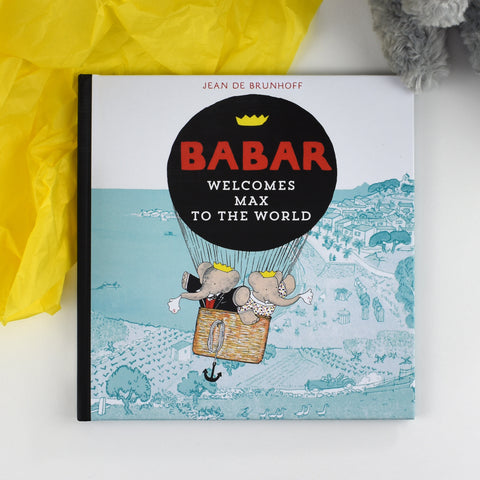 Personalised Babar Welcomes you to the World - MyCustomGiftsUK - Best Customized Products
