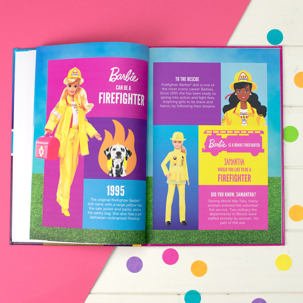 Personalised You Can Be Anything Barbie Book - MyCustomGiftsUK - Best Customized Products