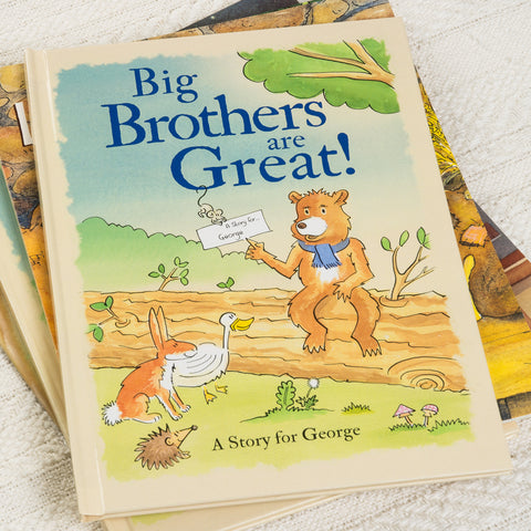 Big Brothers are Great Personalised Book - MyCustomGiftsUK - Best Customized Products