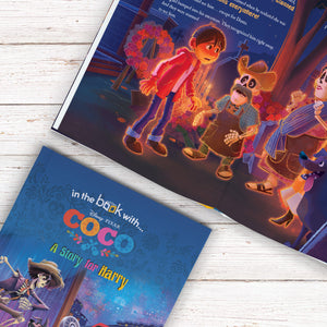 Personalised Disney Coco Story Book - MyCustomGiftsUK - Best Customized Products