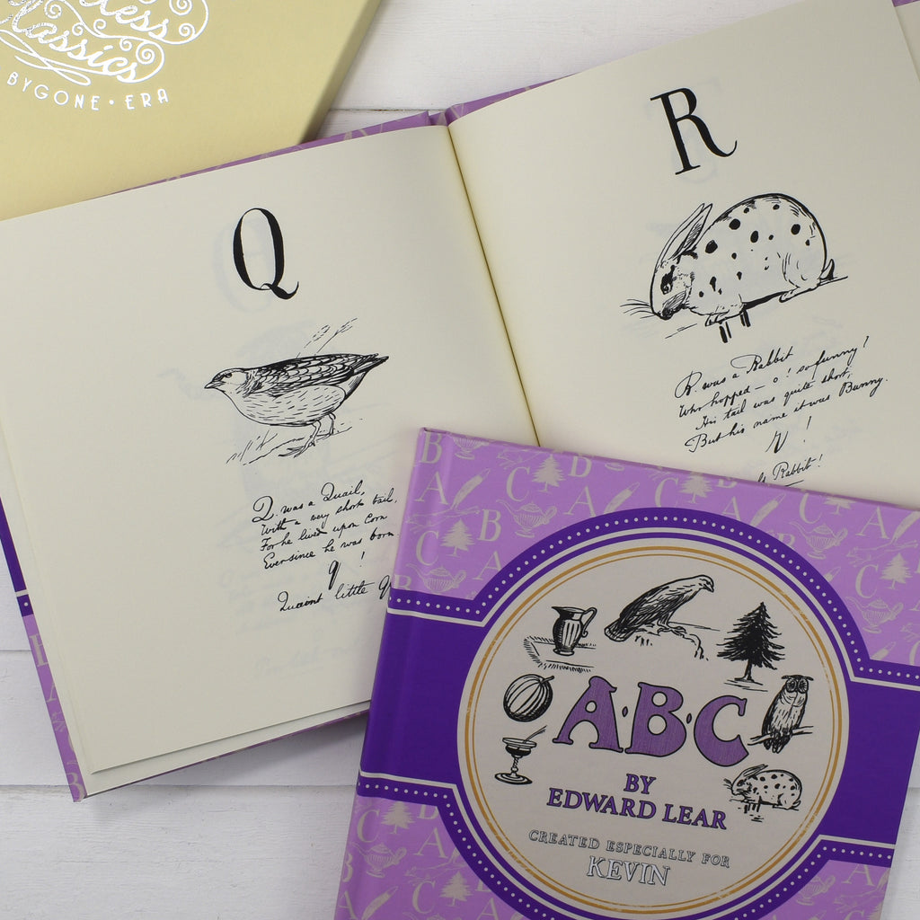 Edward Lear's ABC Alphabet poems - From the Archive