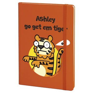 Go Get Em Orange Notebook - MyCustomGiftsUK - Best Customized Products