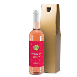 HotchPotch Everyday I'm Brusselin' Rosé Wine - MyCustomGiftsUK - Best Customized Products