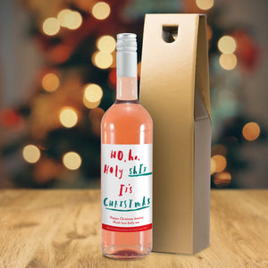 HotchPotch It's Christmas Rosé Wine - MyCustomGiftsUK - Best Customized Products