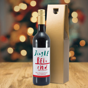 HotchPotch Jingle Bell Mulled Wine - MyCustomGiftsUK - Best Customized Products