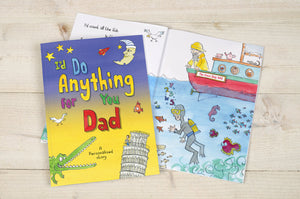 I'd Do Anything for You Dad Book - MyCustomGiftsUK - Best Customized Products