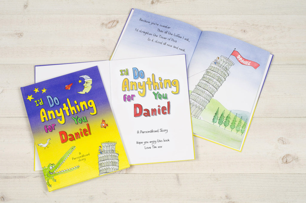 I'd Do Anything for You Book - MyCustomGiftsUK - Best Customized Products