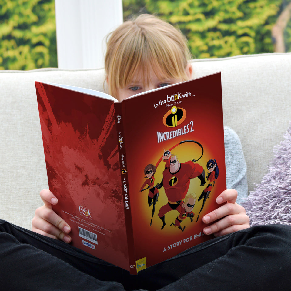 Personalised Disney Incredibles 2 Story Book - MyCustomGiftsUK - Best Customized Products