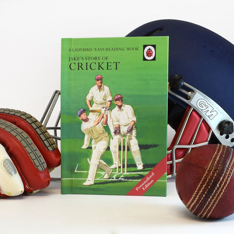 Cricket: A Ladybird Personalised Book
