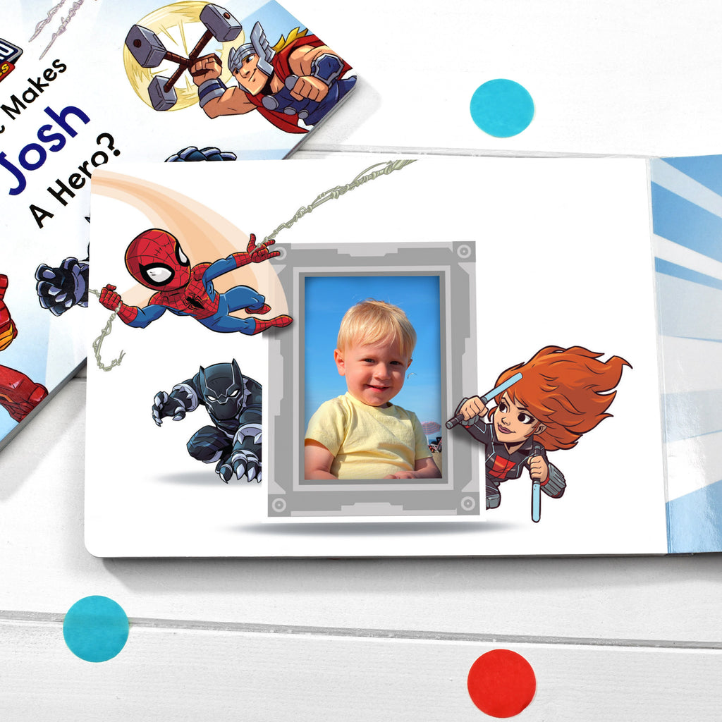 What Makes Me a Hero Marvel Board Book - MyCustomGiftsUK - Best Customized Products