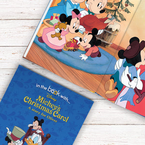 Personalised Disney Mickey's Christmas Carol Story Book - MyCustomGiftsUK - Best Customized Products
