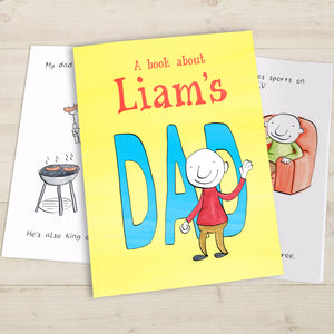 Personalised My Dad Book - MyCustomGiftsUK - Best Customized Products
