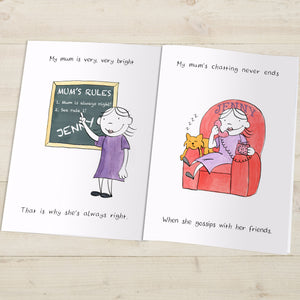 Personalised My Mum Book - MyCustomGiftsUK - Best Customized Products