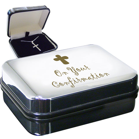 Confirmation Cross Necklace Box