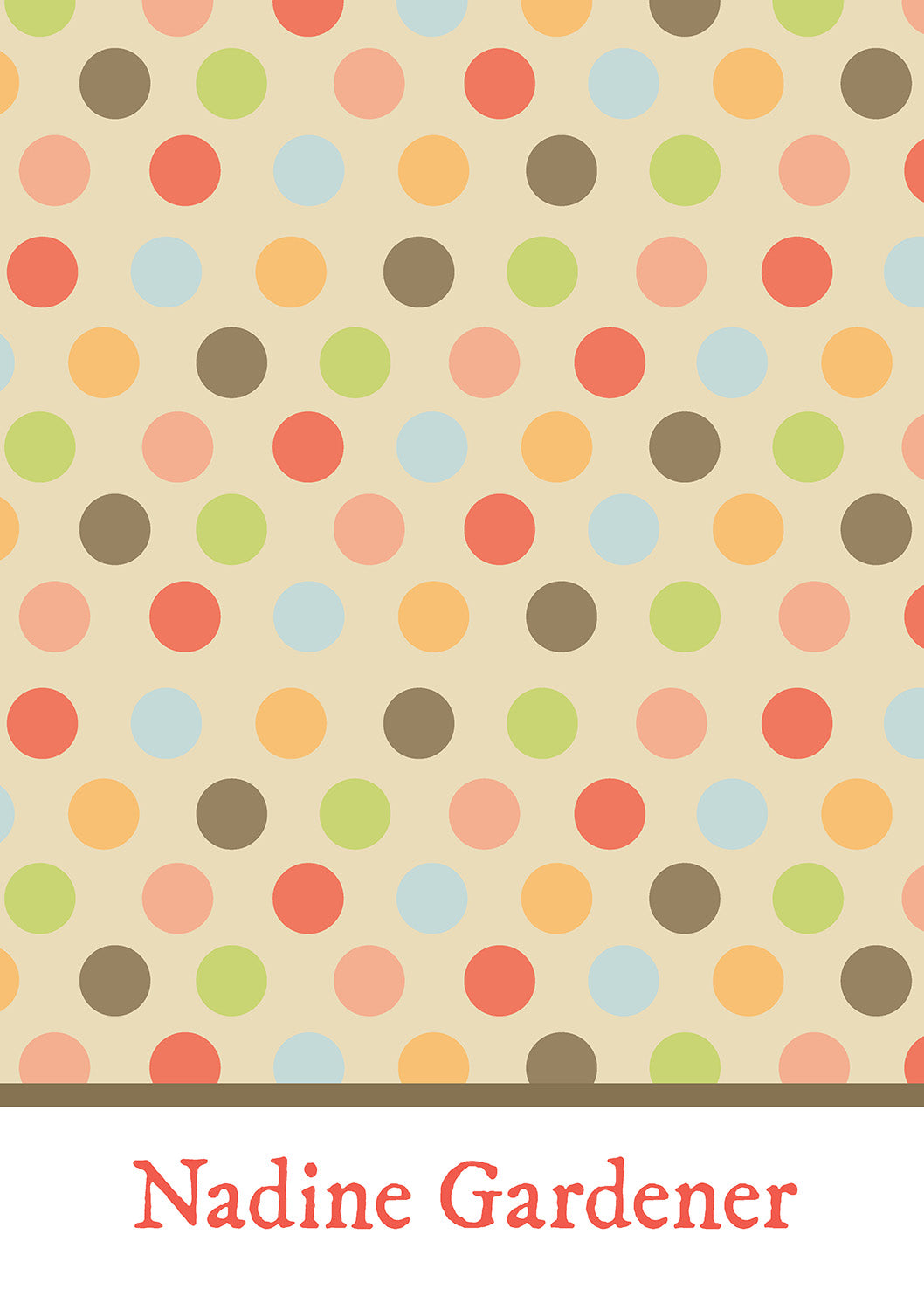 Mad for Dots Notebook - MyCustomGiftsUK - Best Customized Products