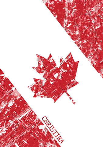 Canadian Flag Notebook - MyCustomGiftsUK - Best Customized Products