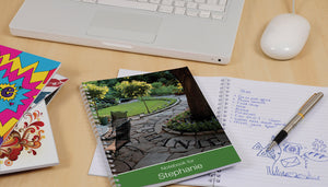 Gardener's Dream Notebook - MyCustomGiftsUK - Best Customized Products