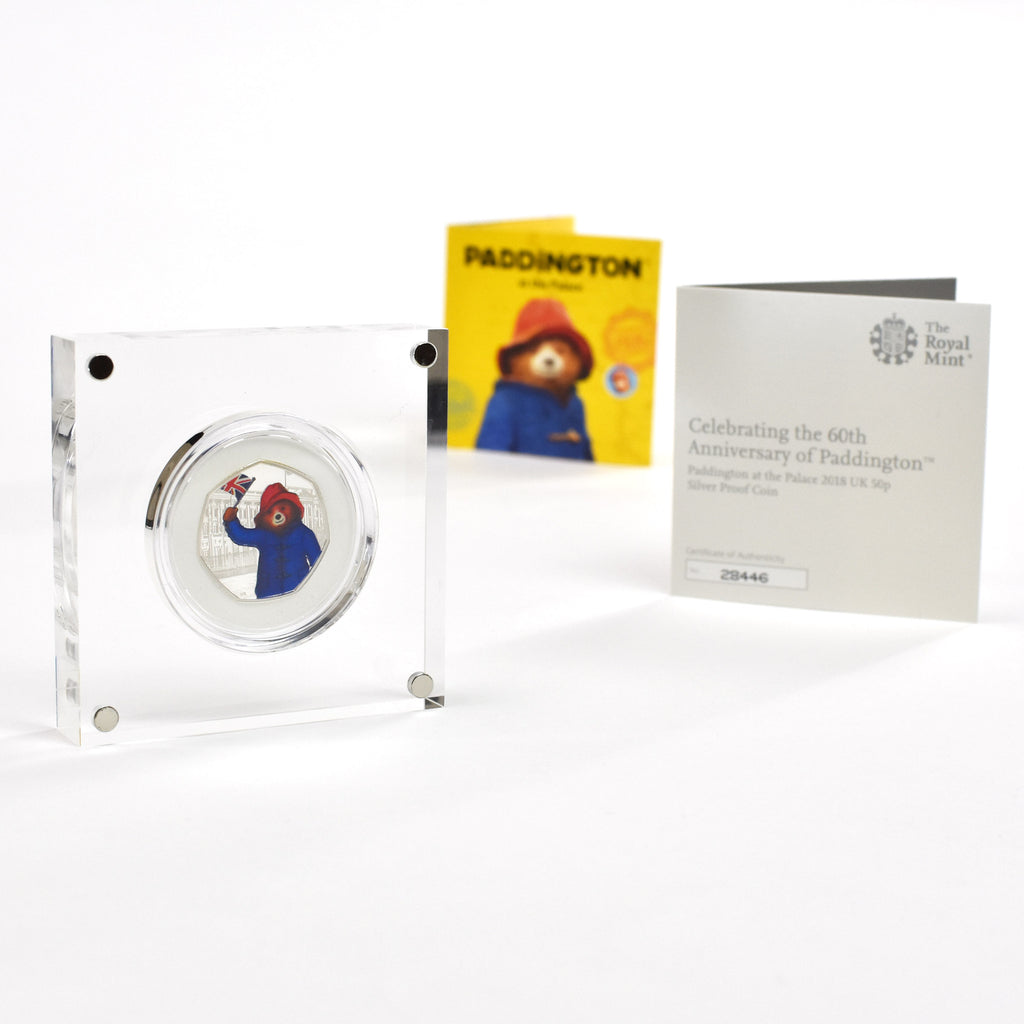 Paddington Bear Silver Royal Mint Collection Box