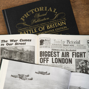 Battle of Britain 75th Anniversary Pictorial Edition Newspaper Book