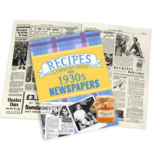 Recipes from 1930s Newspapers