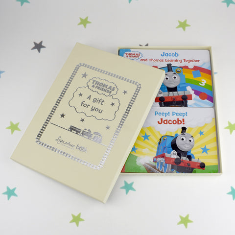 Dual Box-set Thomas & Friends Board Books - MyCustomGiftsUK - Best Customized Products