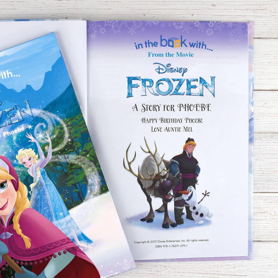 Personalised Disney Frozen Story Book - MyCustomGiftsUK - Best Customized Products