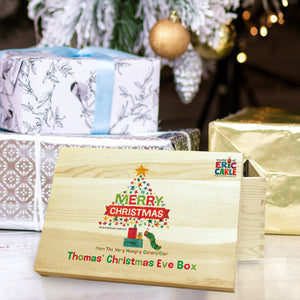 Very Hungry Caterpillar Merry Christmas Tree Christmas Eve Box - MyCustomGiftsUK - Best Customized Products
