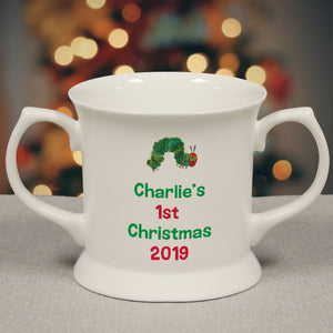Very Hungry Caterpillar My 1st Christmas Loving Cup - MyCustomGiftsUK - Best Customized Products
