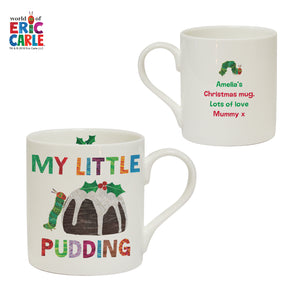 Very Hungry Caterpillar My Little Pudding Balmoral Mug - MyCustomGiftsUK - Best Customized Products