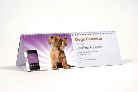 Dogs Calendar - MyCustomGiftsUK - Best Customized Products