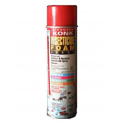 Konk Insecticide Foam Spray