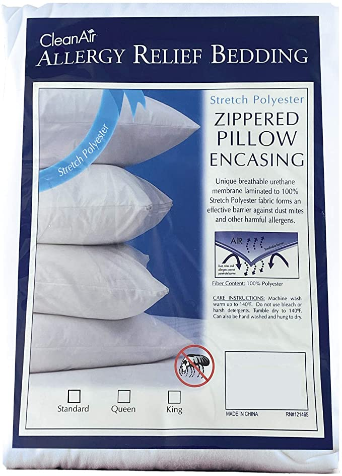 Allergy Relief Pillow Cover