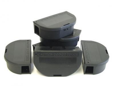 Lockable Mouse Bait Stations - 3 Pack