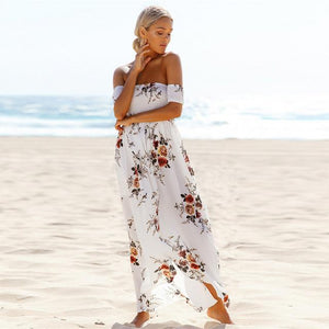 Strapless Long Maxi Dress