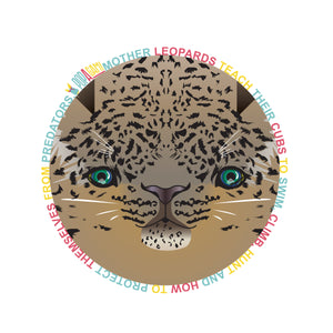 Amur Leopard T-Shirt (Unisex) Endangered Animal