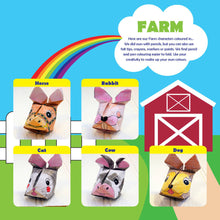 Farm Animals Origami Craft Kit