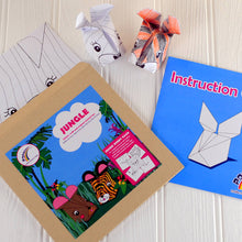 Jungle Animals Origami Craft Kit