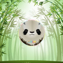 Giant Panda Pencil case print design